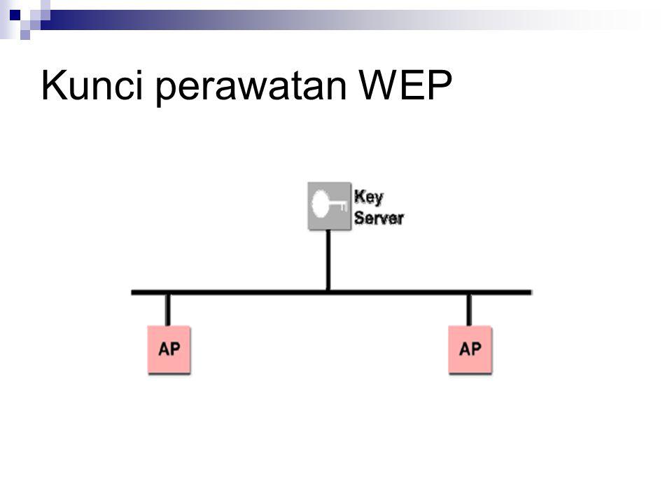 Kunci perawatan WEP