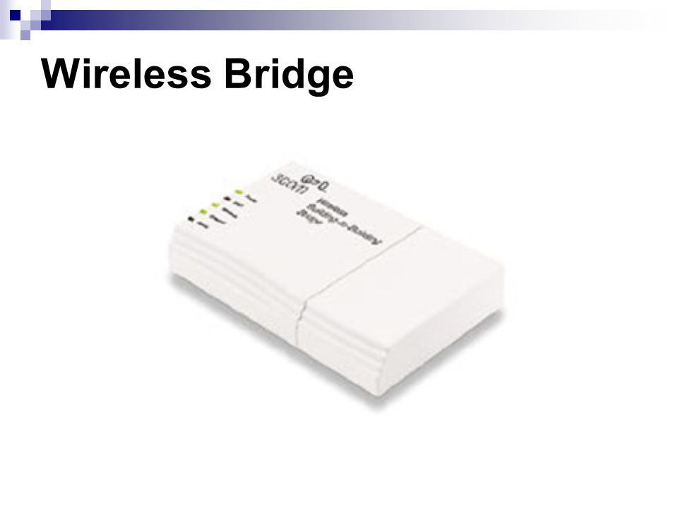 Wireless Bridge