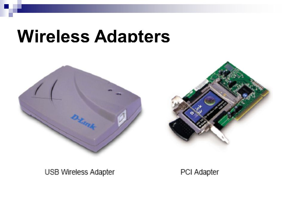 Wireless Adapters