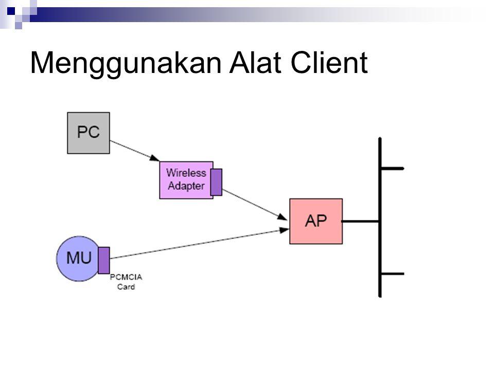 Menggunakan Alat Client
