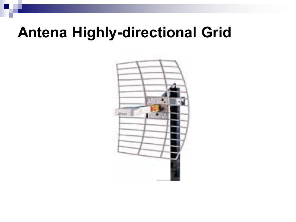 Antena Highly-directional Grid