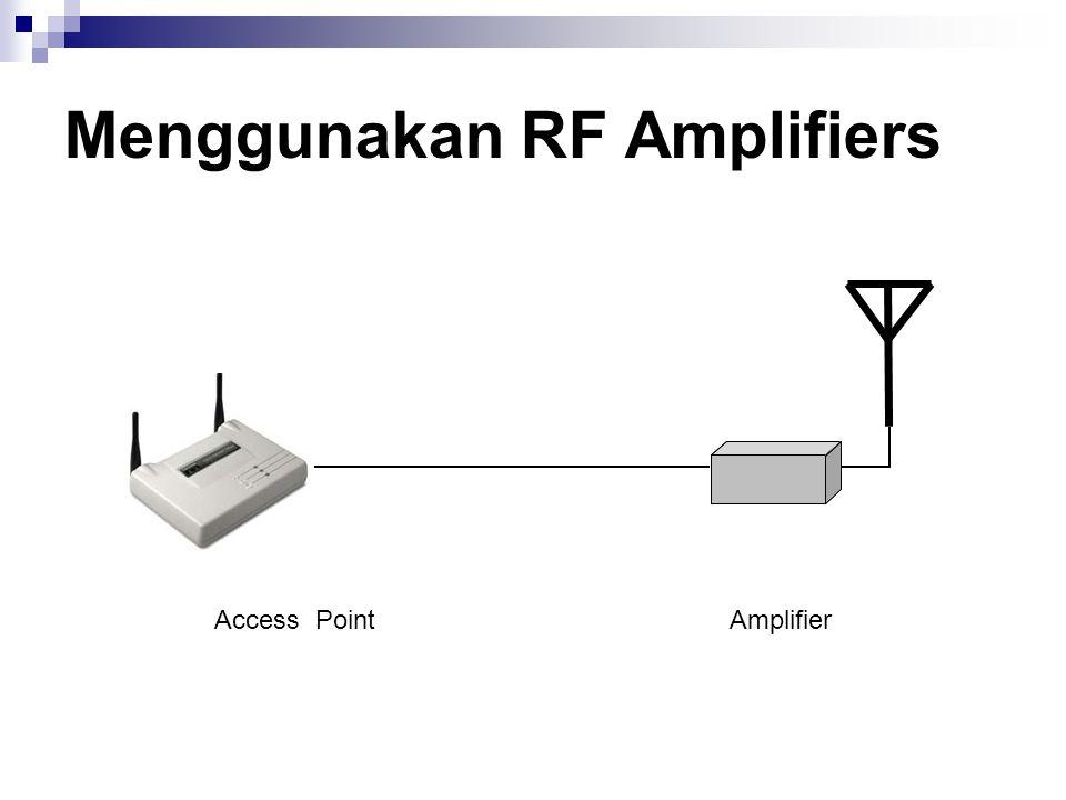 Menggunakan RF Amplifiers