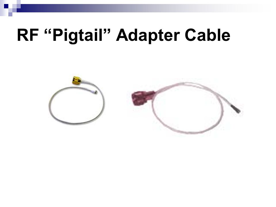 RF Pigtail Adapter Cable