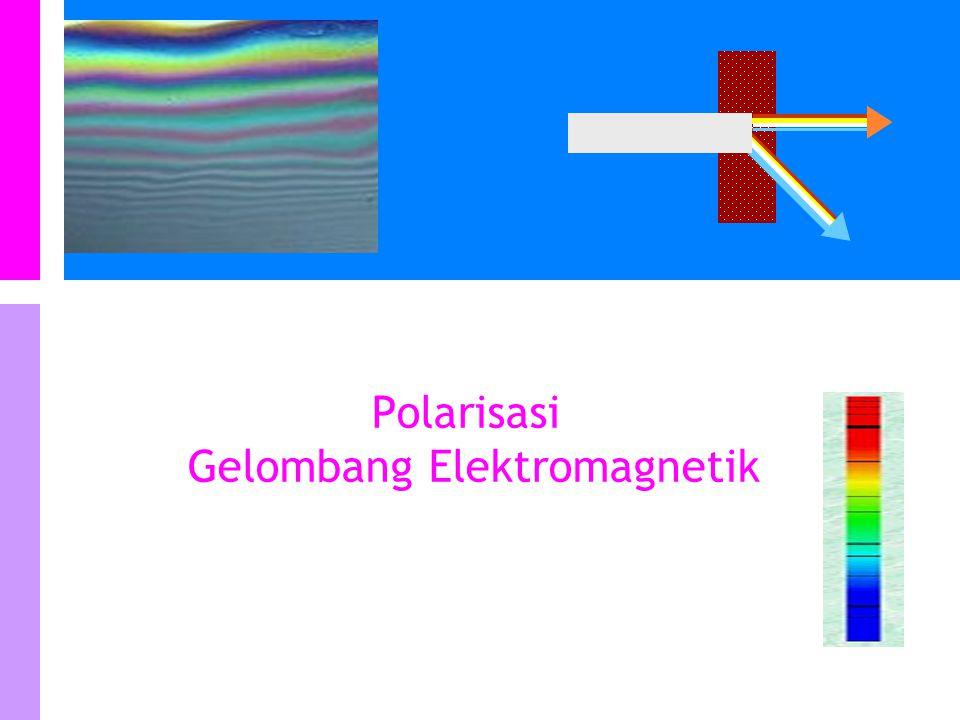 Polarisasi Gelombang Elektromagnetik