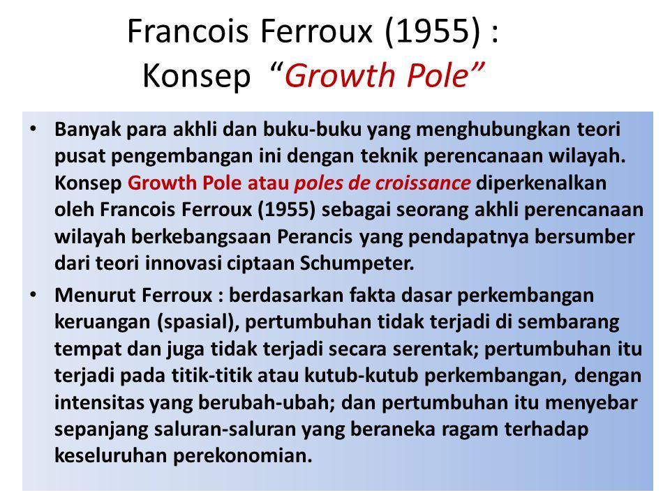 Francois Ferroux (1955) : Konsep Growth Pole