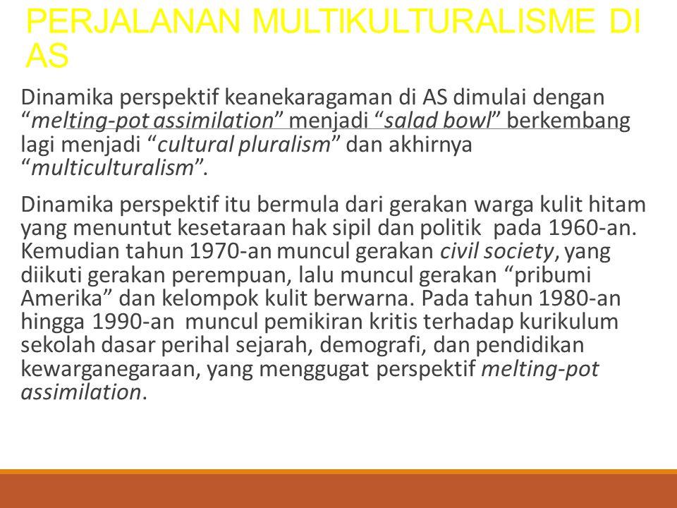 PERJALANAN MULTIKULTURALISME DI AS