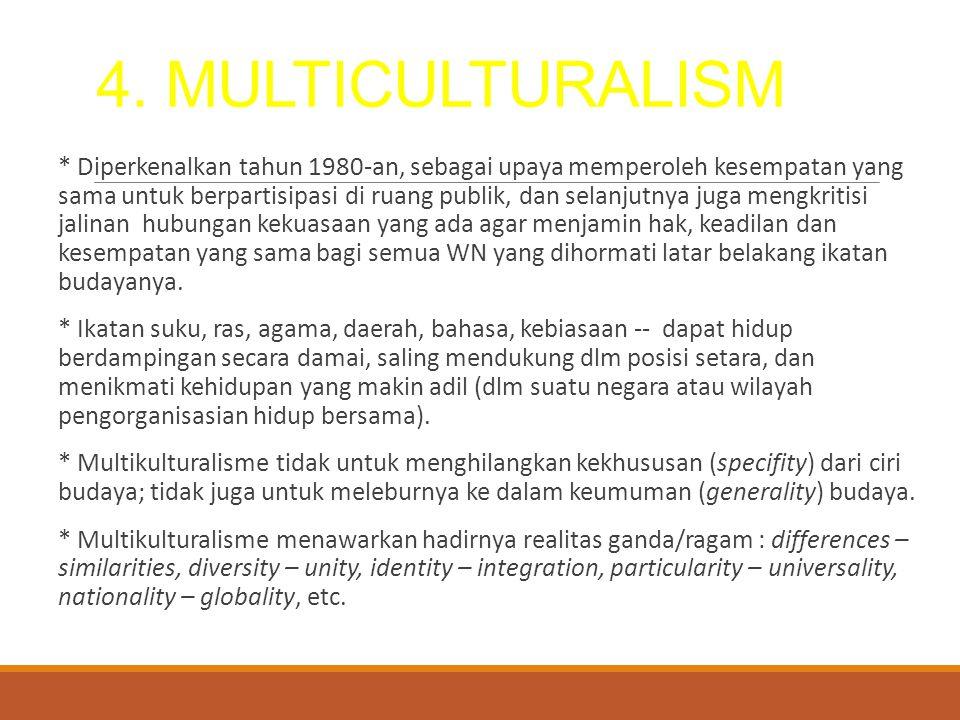 4. MULTICULTURALISM