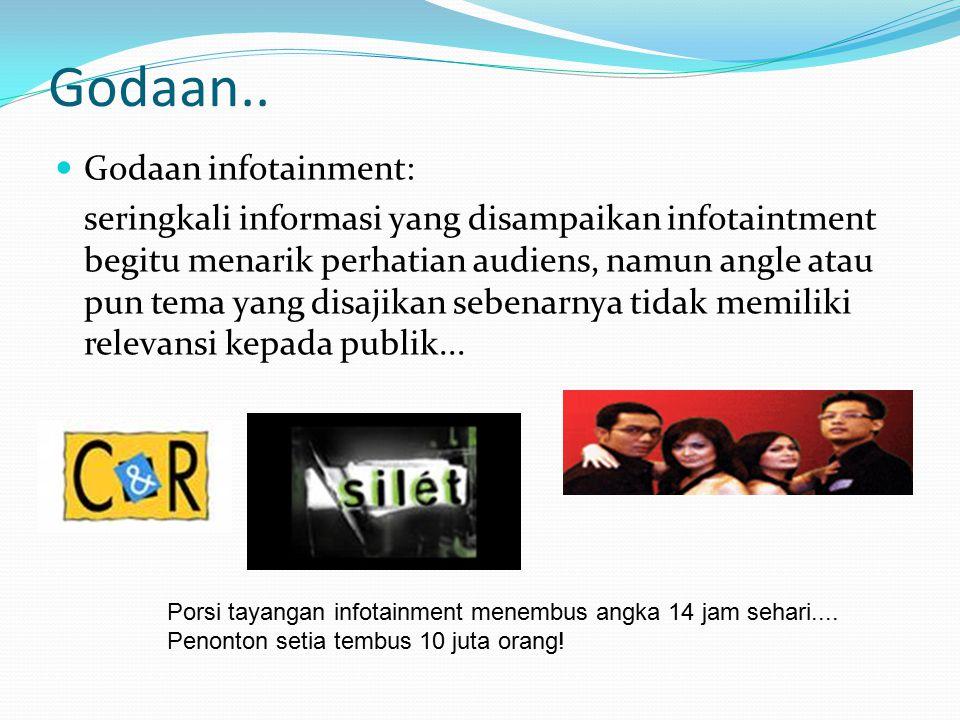 Godaan.. Godaan infotainment: