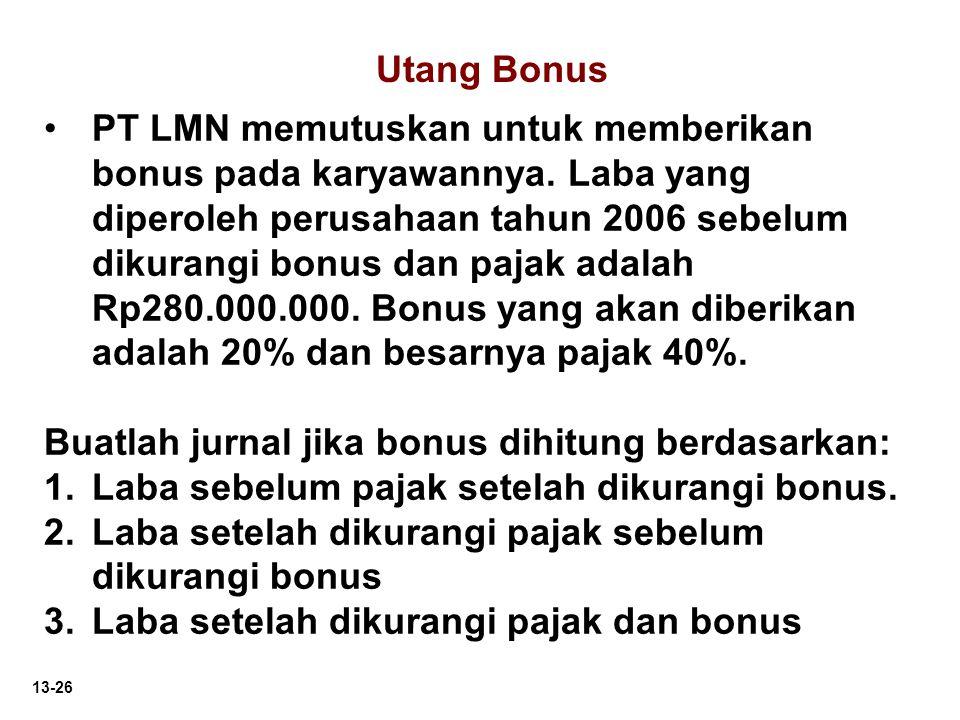Utang Bonus