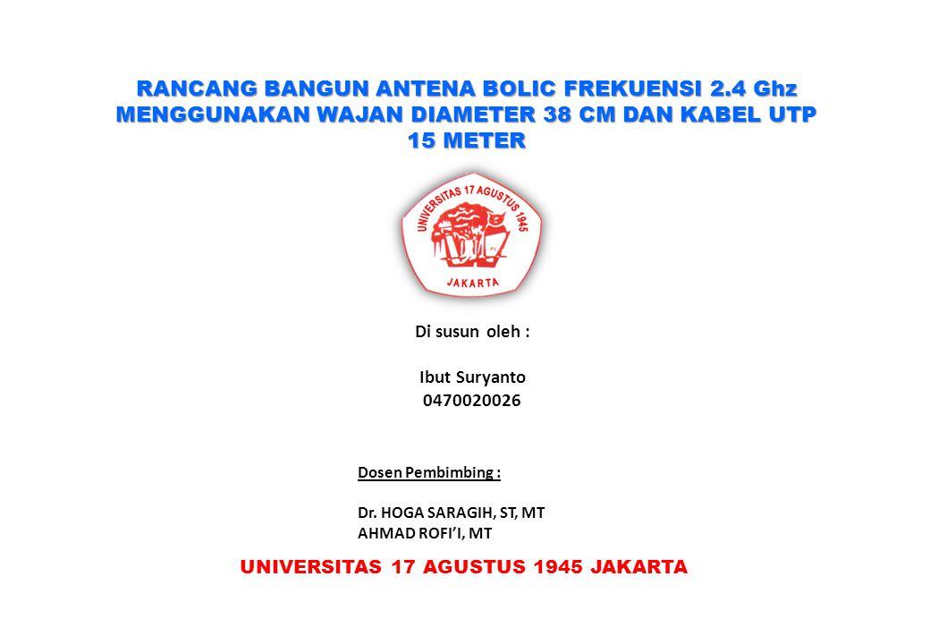 UNIVERSITAS 17 AGUSTUS 1945 JAKARTA