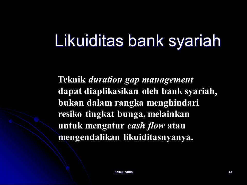 Likuiditas bank syariah