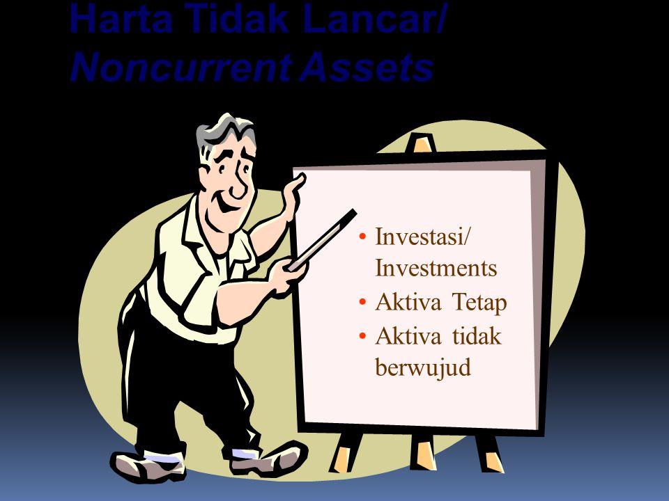 Harta Tidak Lancar/ Noncurrent Assets