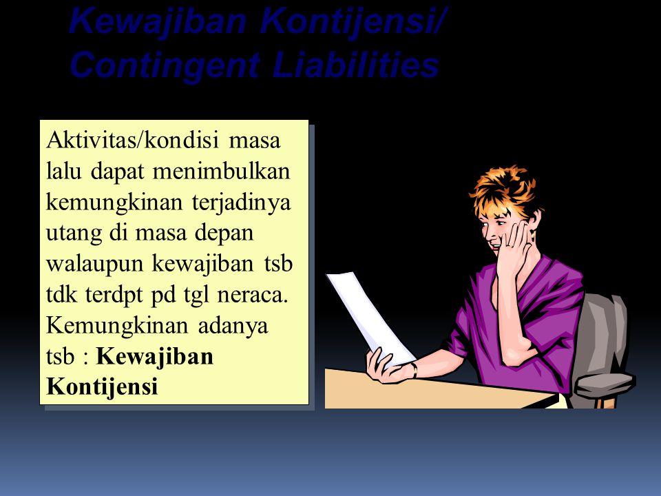 Kewajiban Kontijensi/ Contingent Liabilities