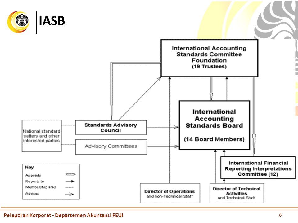 IASB Pelaporan Korporat - Departemen Akuntansi FEUI