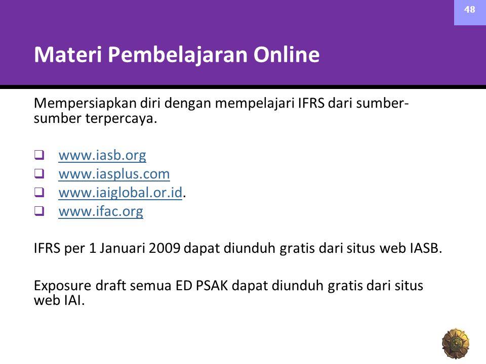 Materi Pembelajaran Online