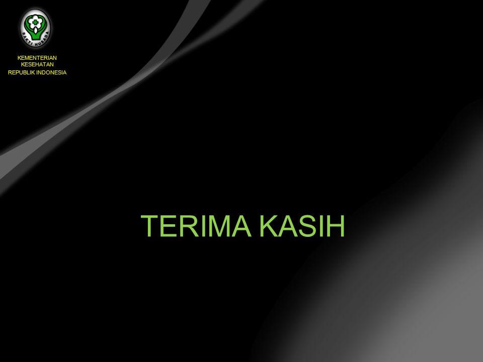 TERIMA KASIH KEMENTERIAN KESEHATAN REPUBLIK INDONESIA