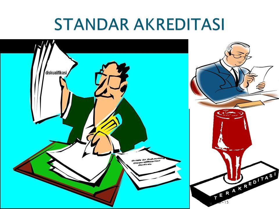 STANDAR AKREDITASI 8-Apr-17