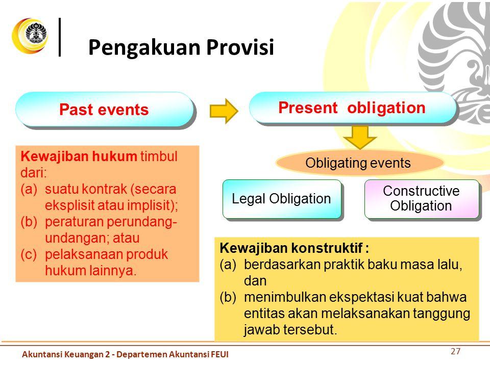 Constructive Obligation