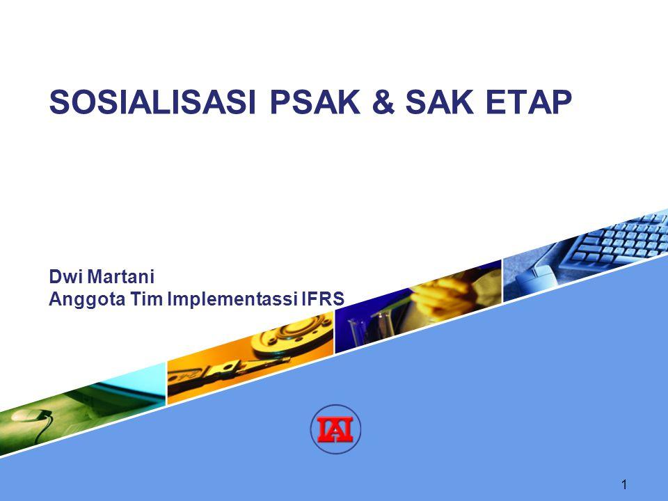 SOSIALISASI PSAK & SAK ETAP