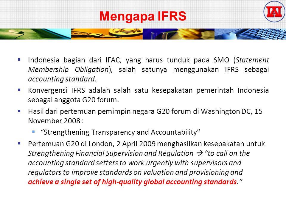 Mengapa IFRS