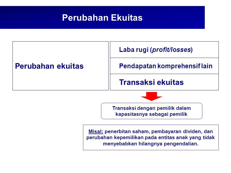 Transaksi dengan pemilik dalam kapasitasnya sebagai pemilik