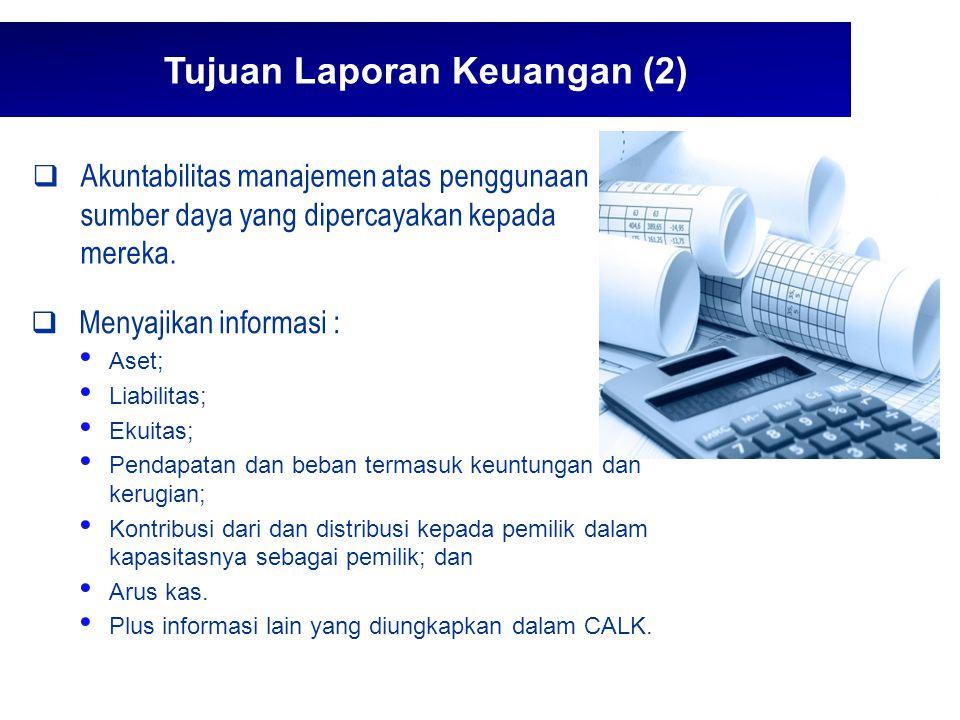 Tujuan Laporan Keuangan (2)