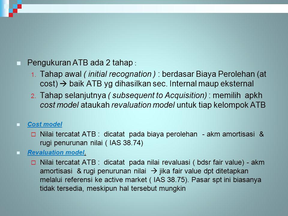 Pengukuran ATB ada 2 tahap :