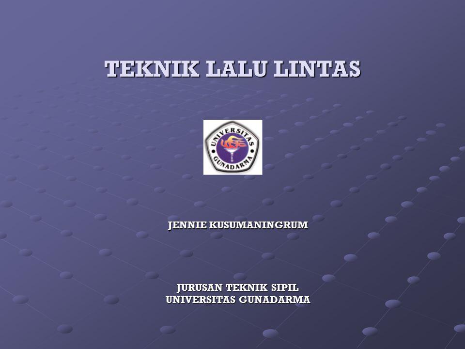 JURUSAN TEKNIK SIPIL UNIVERSITAS GUNADARMA