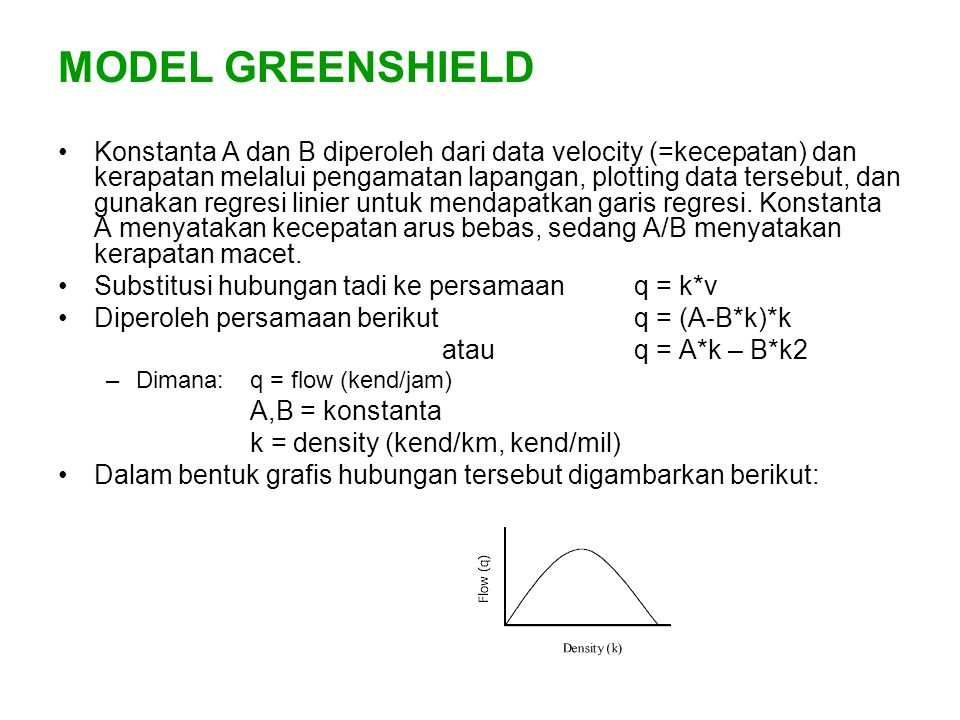 MODEL GREENSHIELD