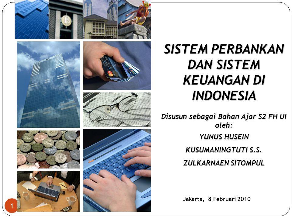 SISTEM PERBANKAN DAN SISTEM KEUANGAN DI INDONESIA