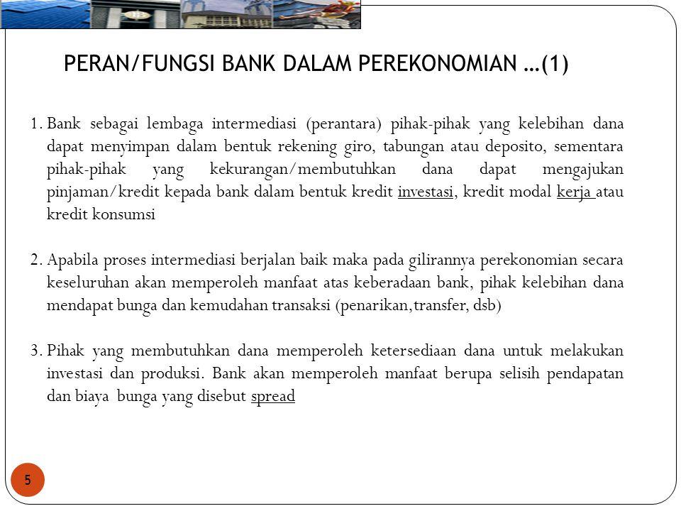 PERAN/FUNGSI BANK DALAM PEREKONOMIAN …(1)