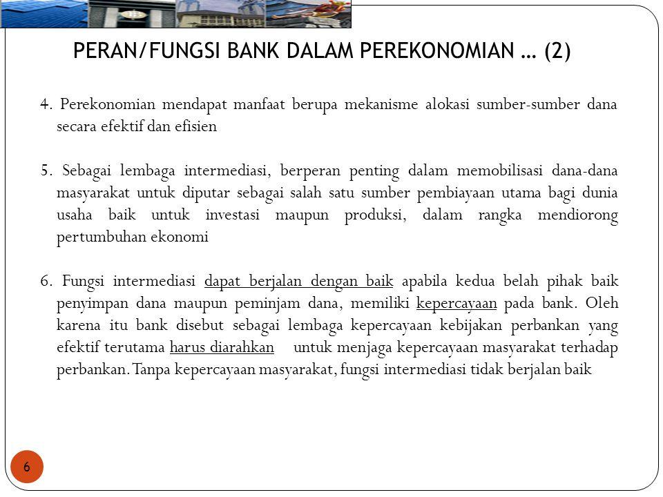 PERAN/FUNGSI BANK DALAM PEREKONOMIAN … (2)