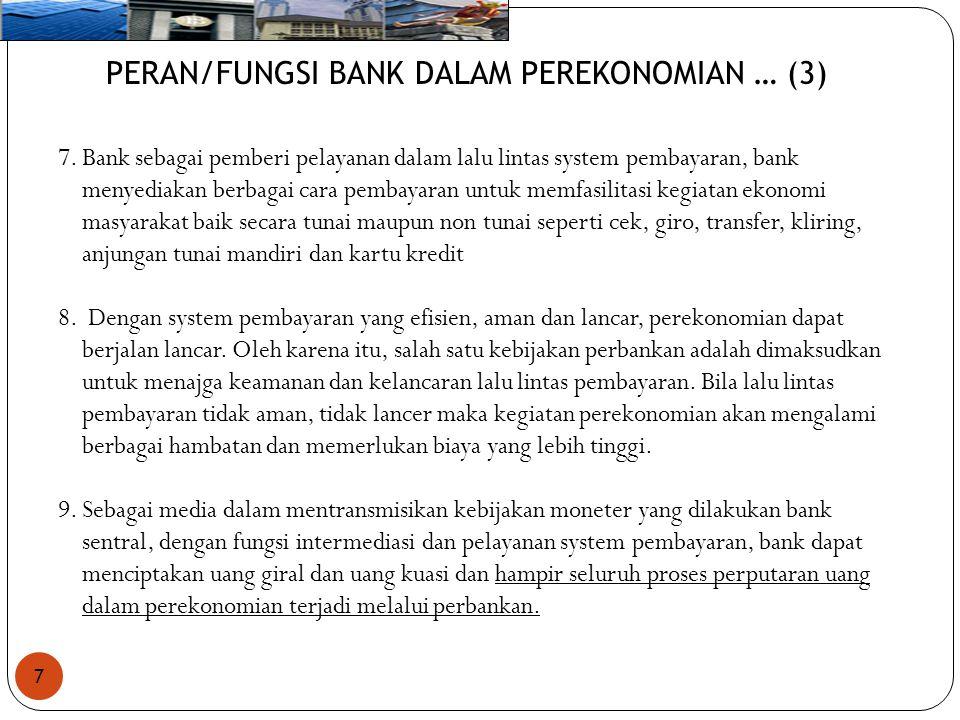 PERAN/FUNGSI BANK DALAM PEREKONOMIAN … (3)