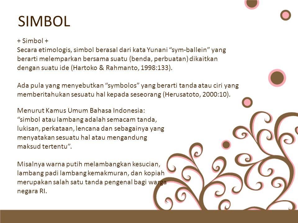 SIMBOL + Simbol +