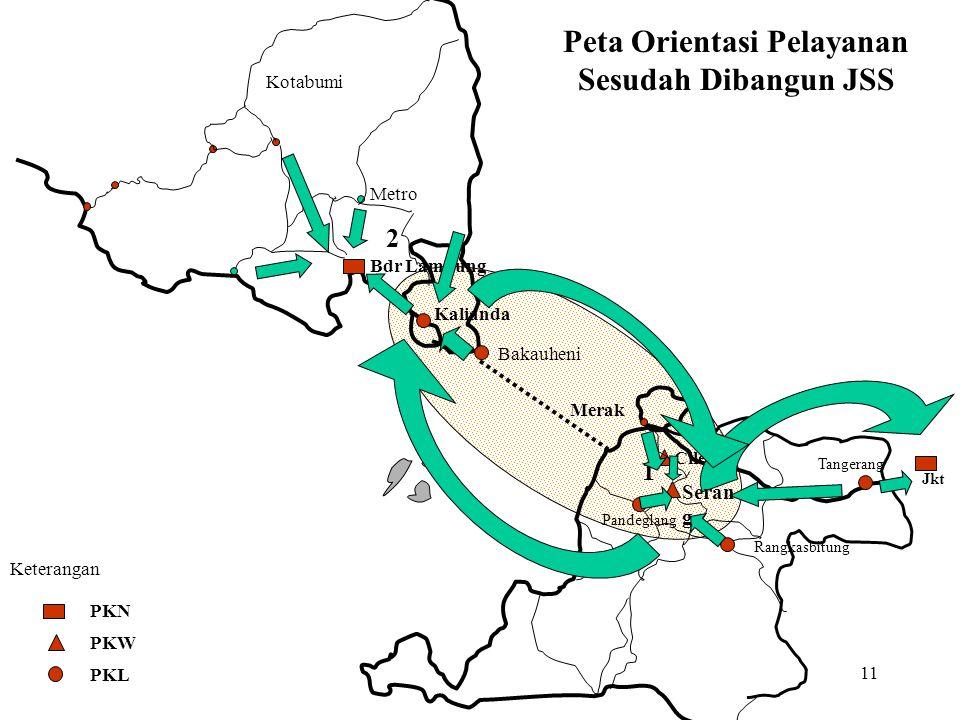 Peta Orientasi Pelayanan Sesudah Dibangun JSS
