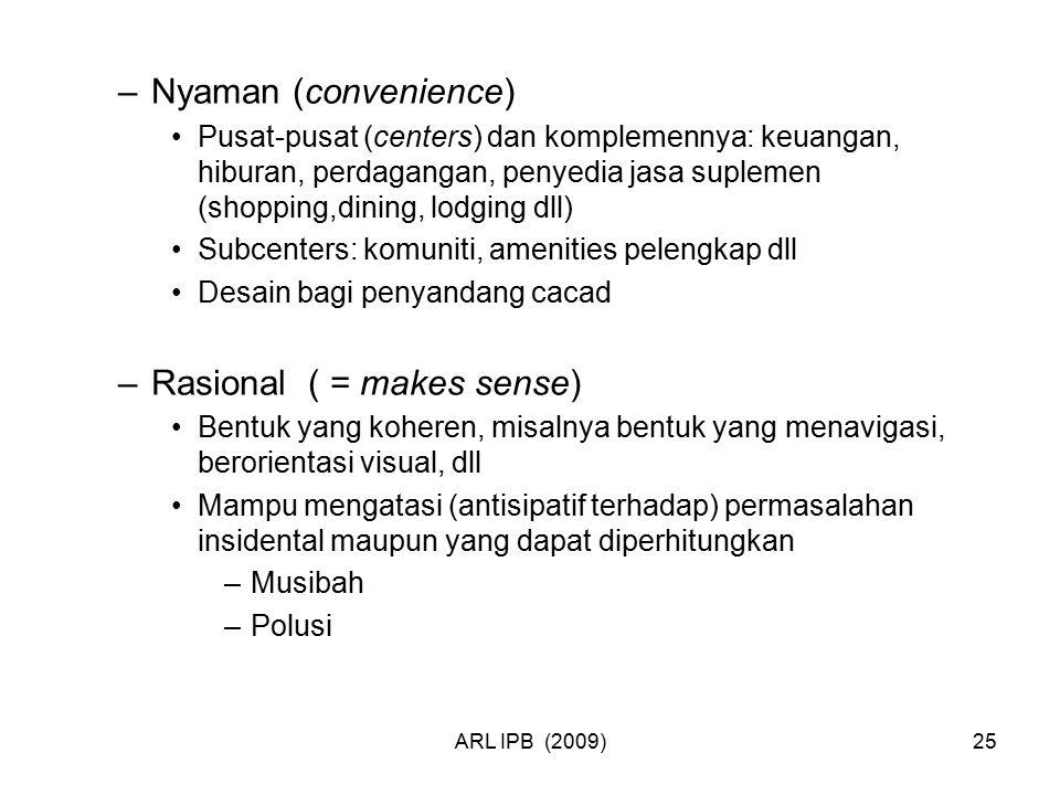 Rasional ( = makes sense)