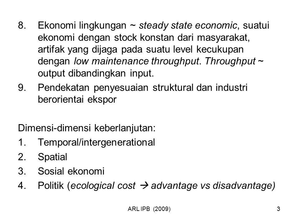 Pendekatan penyesuaian struktural dan industri berorientai ekspor
