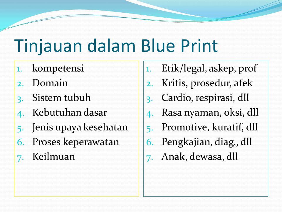 Tinjauan dalam Blue Print