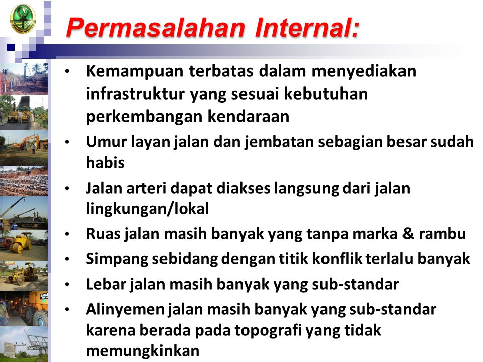 Permasalahan Internal: