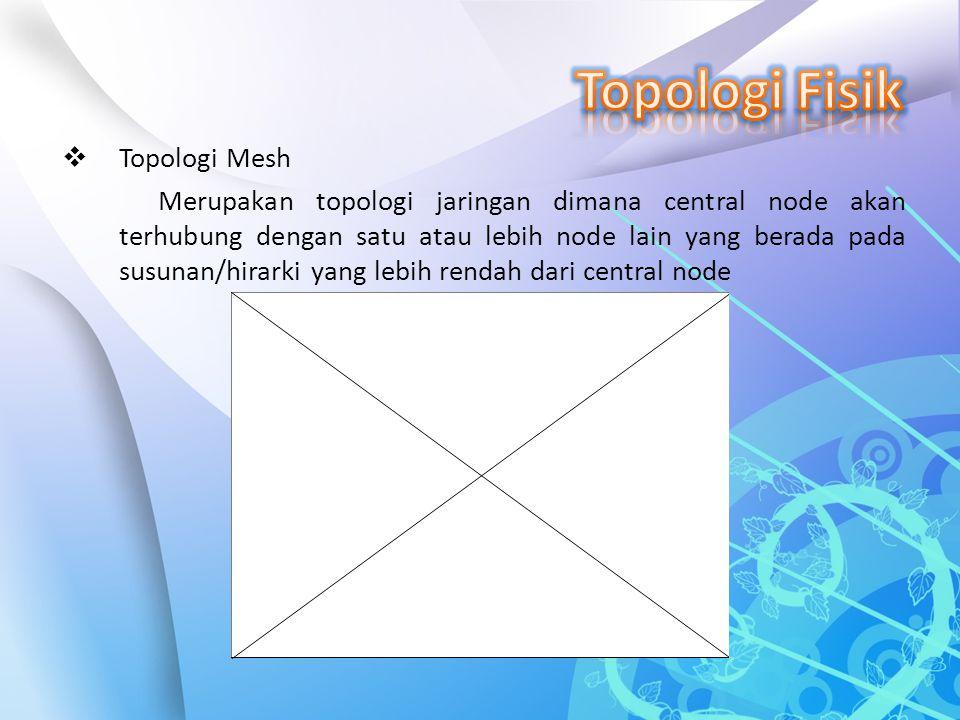 Topologi Fisik Topologi Mesh