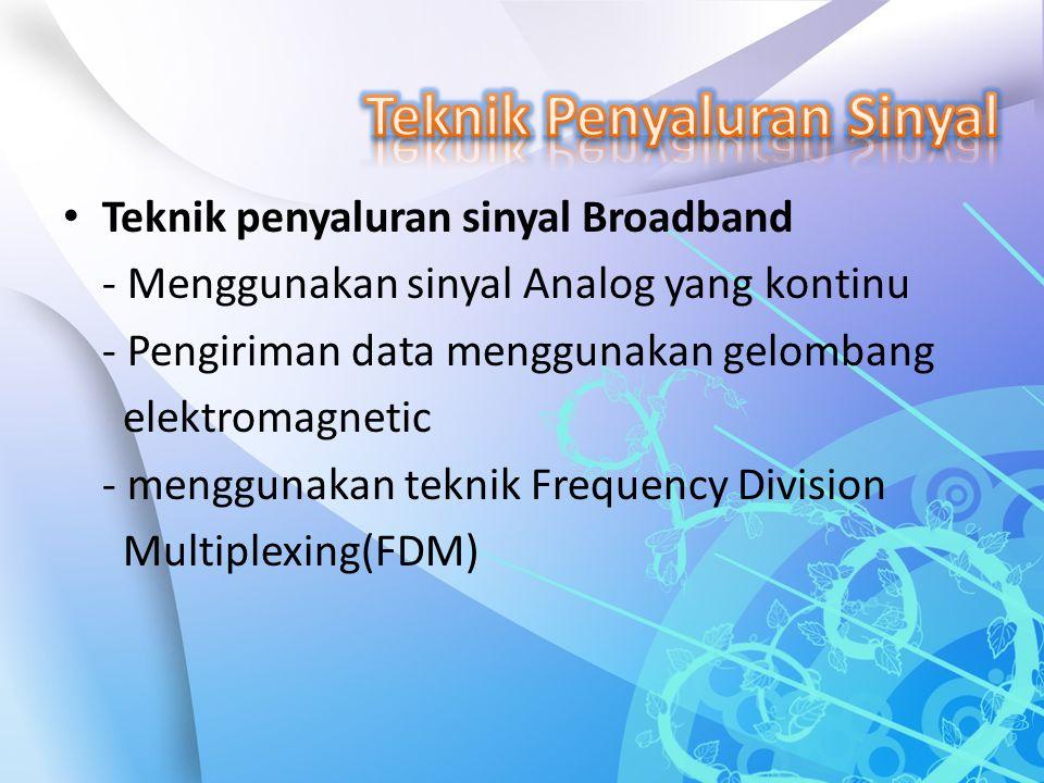 Teknik Penyaluran Sinyal