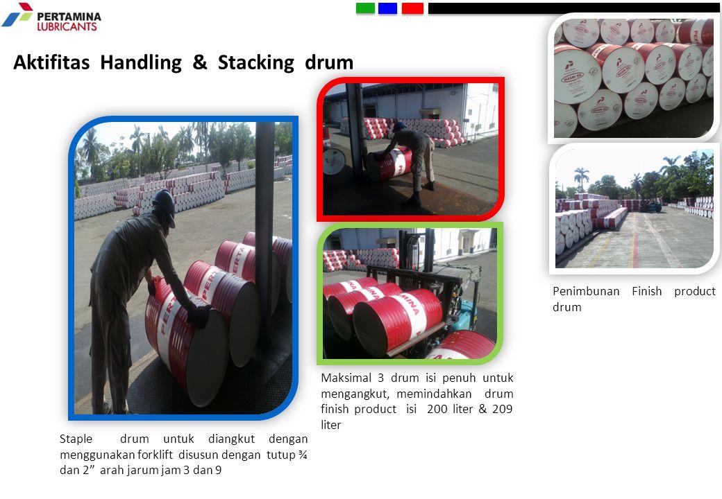 Aktifitas Handling & Stacking drum