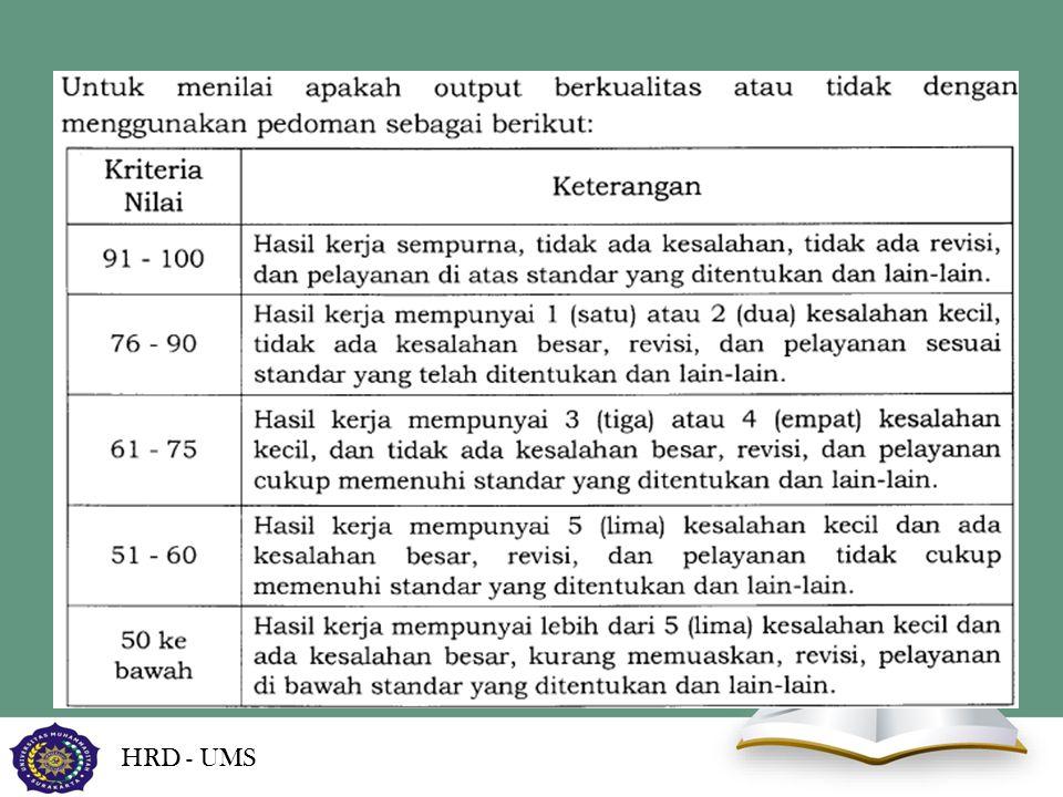 HRD - UMS