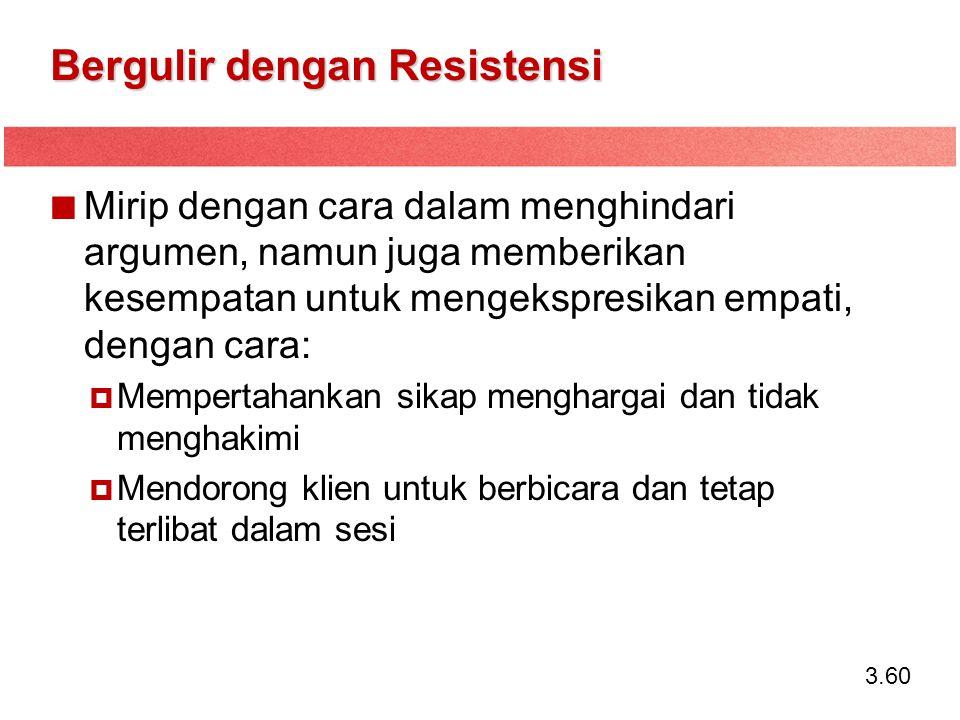 Bergulir dengan Resistensi