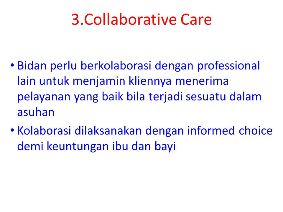 3.Collaborative Care
