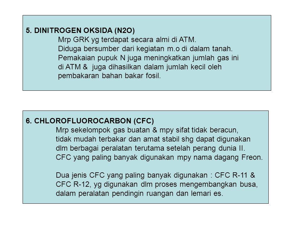 5. DINITROGEN OKSIDA (N2O)