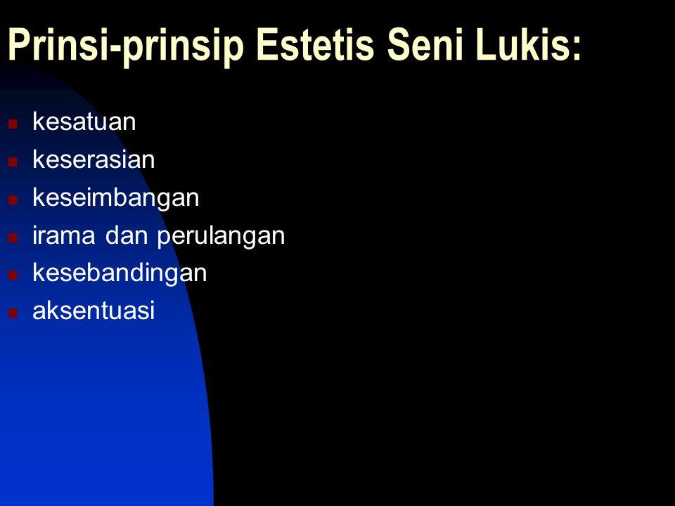 Prinsi-prinsip Estetis Seni Lukis: