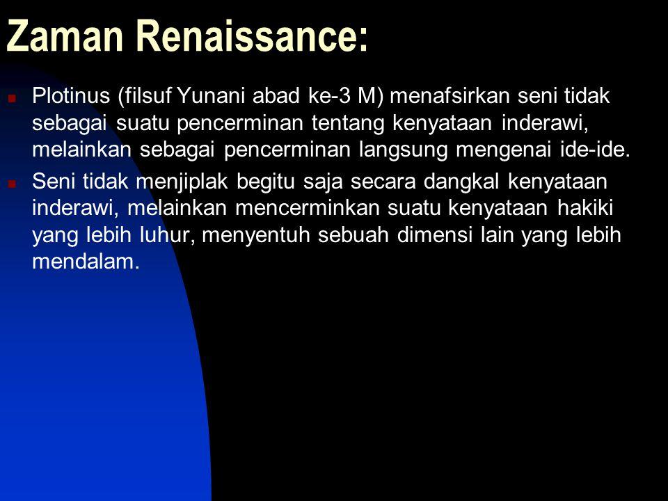 Zaman Renaissance: