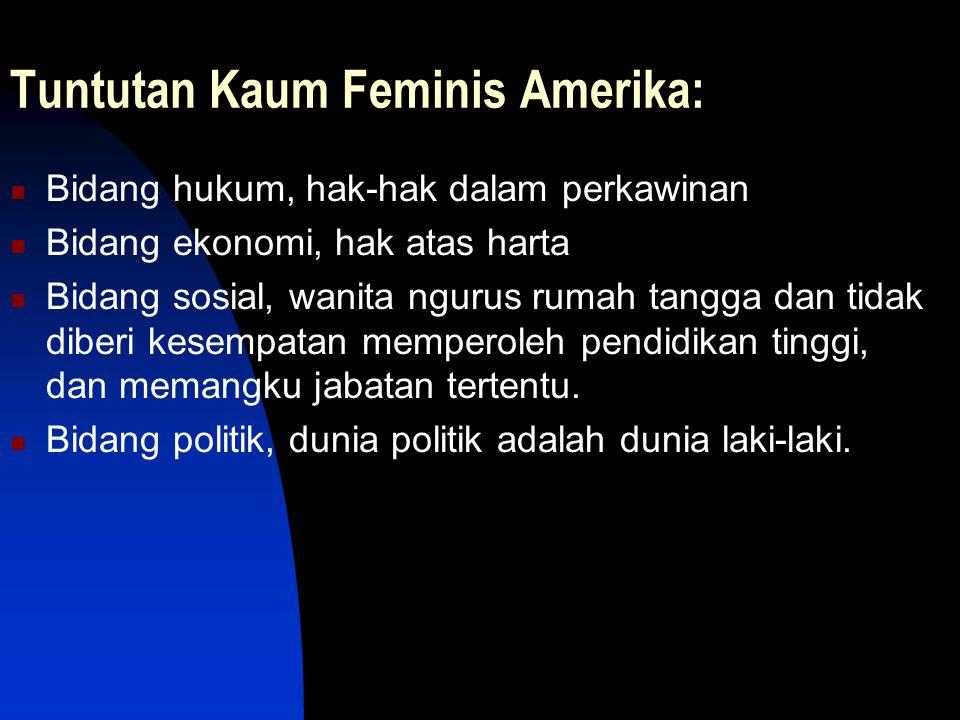 Tuntutan Kaum Feminis Amerika: