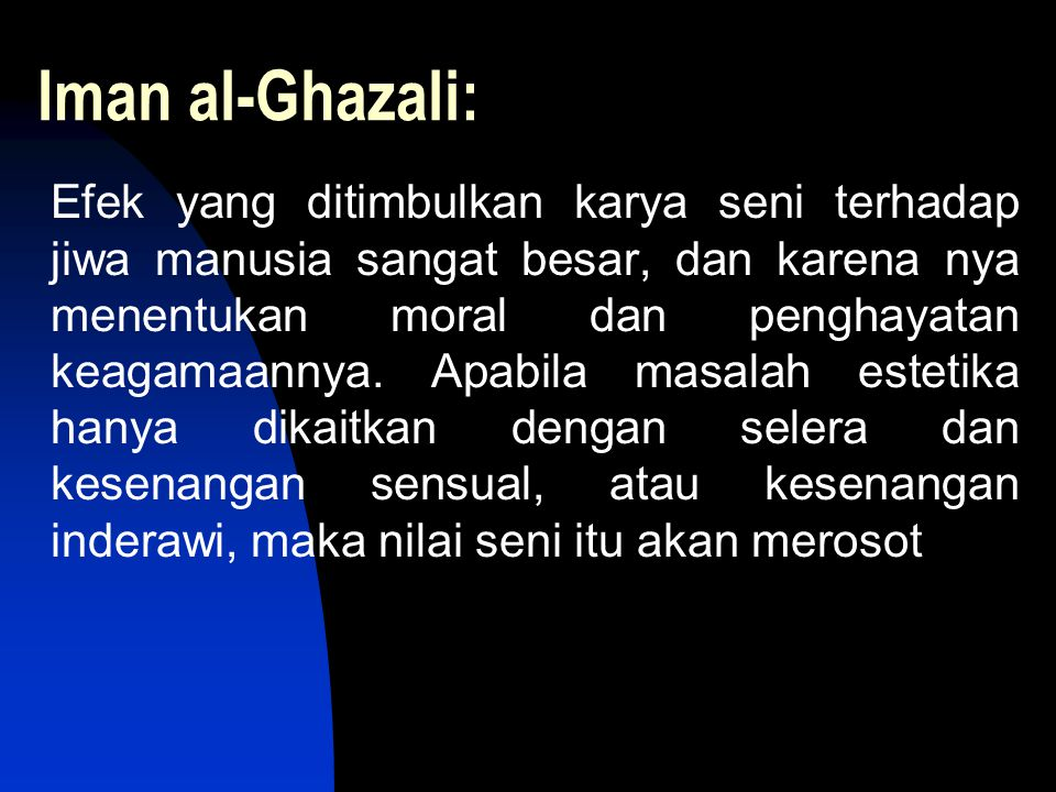 Iman al-Ghazali: